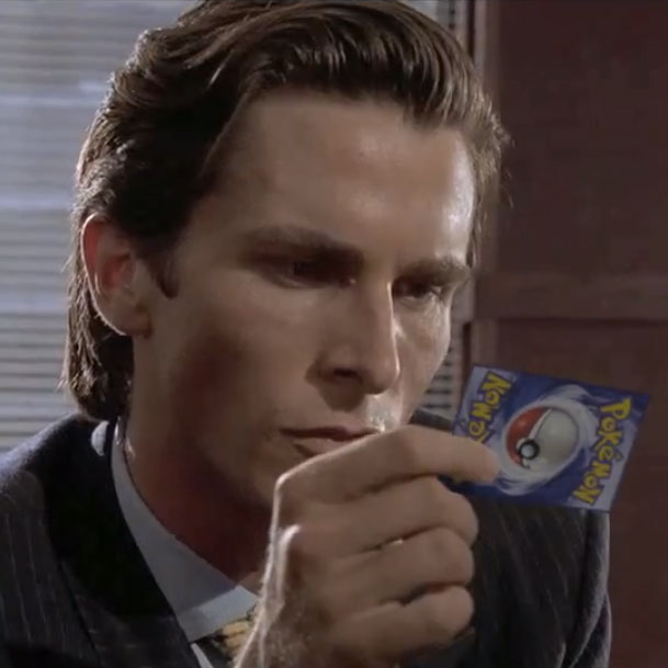 Watch the business card scene from american psycho but with weekly updates photo gallery post gallery do you remember sean batemans business card fiasco in american psycho reheart Choice Image