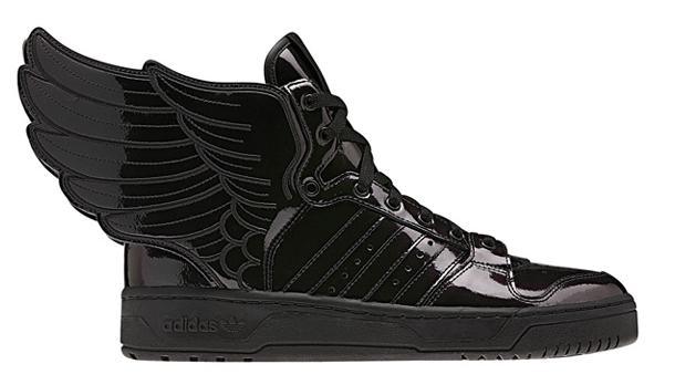 Kicks  Adidas Originals By Jeremy Scott – JS Wings 2.0  Patent Leather  35a3298c7