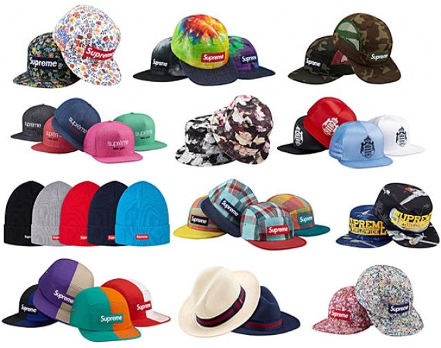 Supreme - Spring Summer 2013 Caps   Hats Collection — Acclaim Magazine 0b07f6096fc