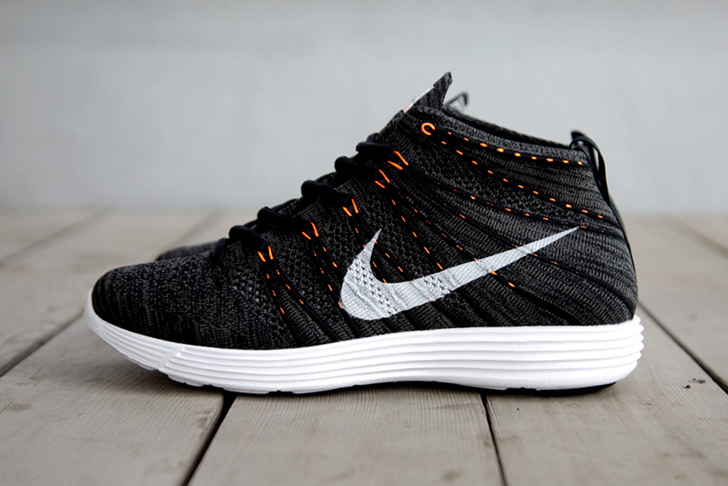 fd7177cde887 Nike Lunar Flyknit Chukka - Midnight Fog Total Orange — Acclaim Magazine