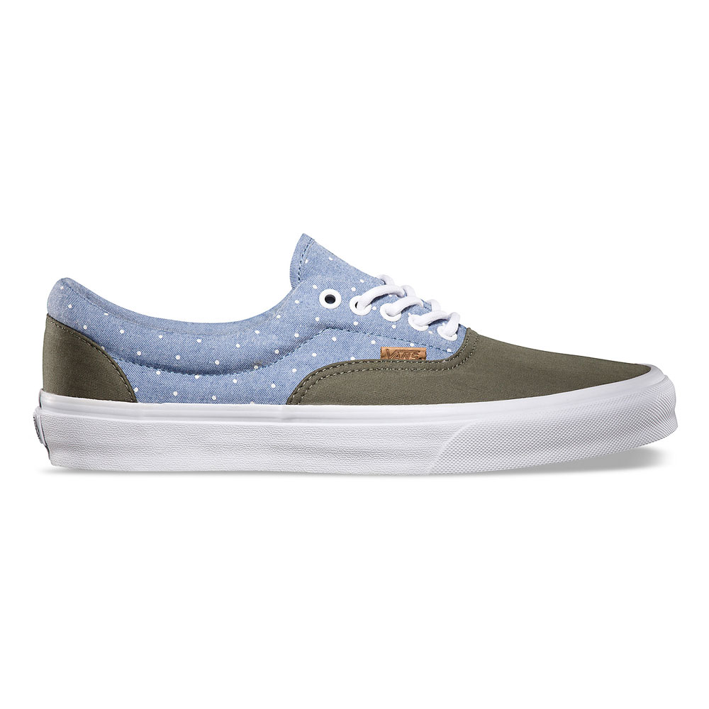 902f6032a9 Kicks  Vans California Collection Fall 2013 Chambray Polka Pack ...