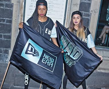 deae5309364 Event recap  New Era Cap   Mad Decent Presents  FLY YOUR OWN FLAG
