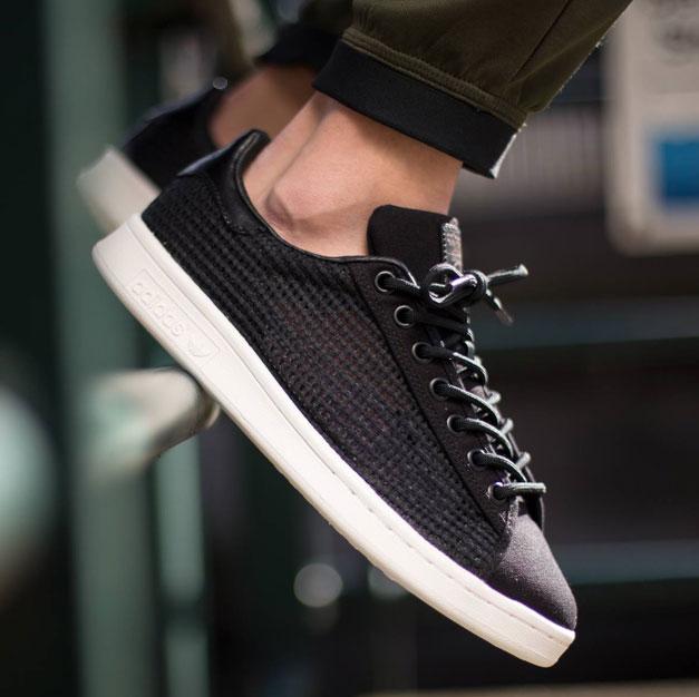 Excretar Regreso Amplia gama  Kicks: Adidas Stan Smith Woven (Core Black) — Acclaim Magazine