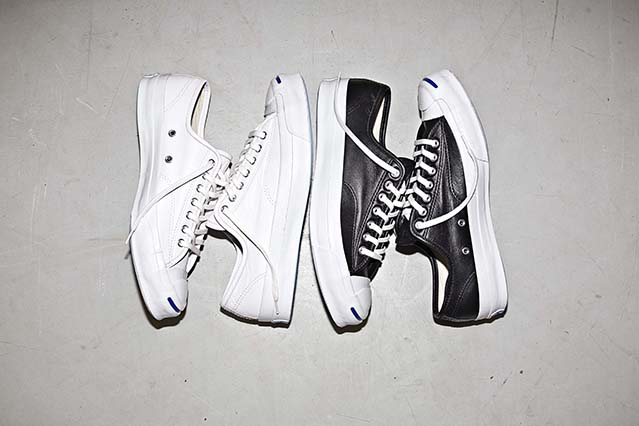 25ce19d44cc3 Take a closer look at the Converse Jack Purcell Signature leather ...