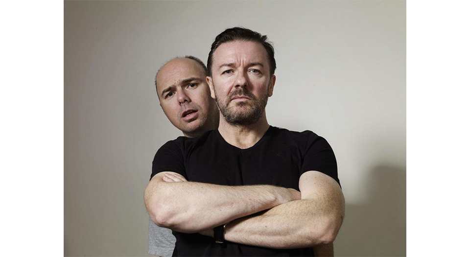 Ricky Gervais - Howling Pixel