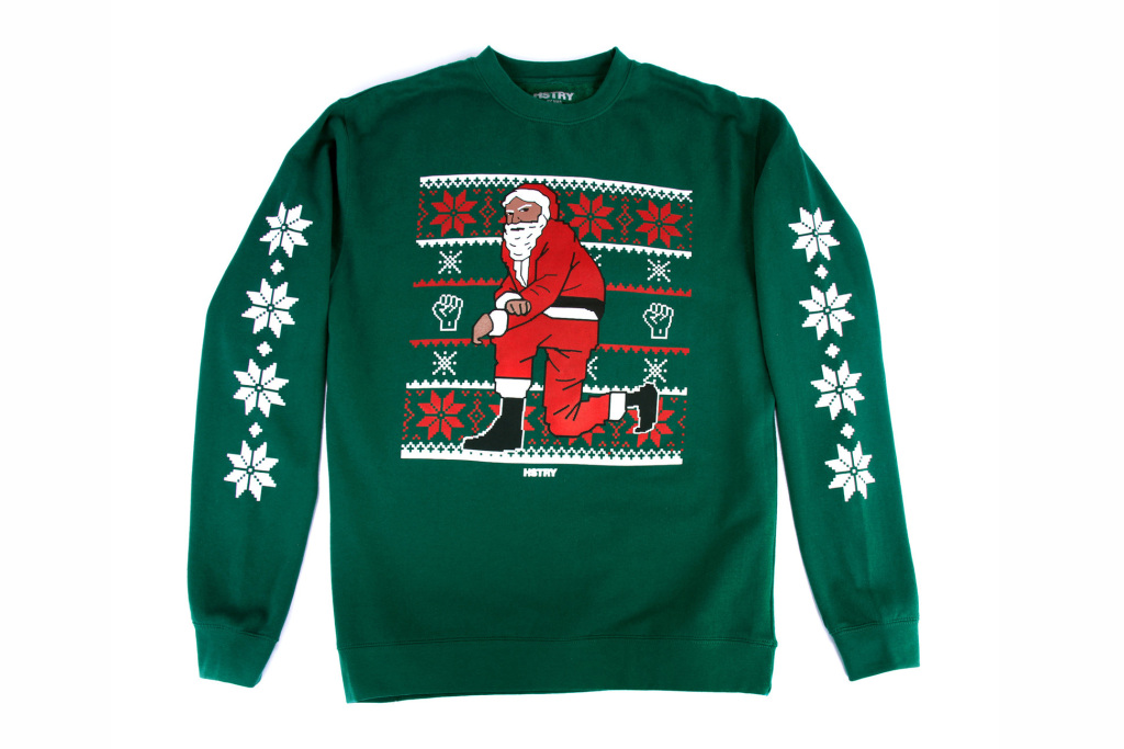 Unfortunately rappers are back with more Christmas sweaters