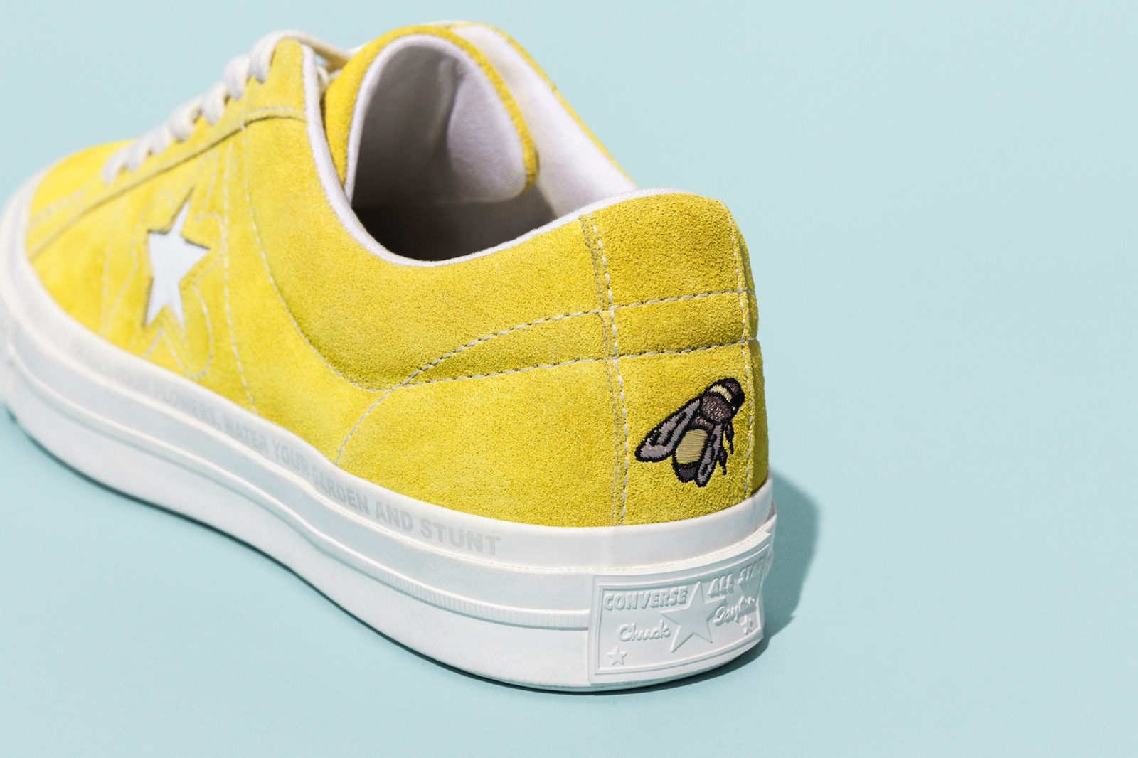 2889f9067c8c21 The second wave of Tyler the Creator s collab with Converse is a colourful  take on the  70s One Star