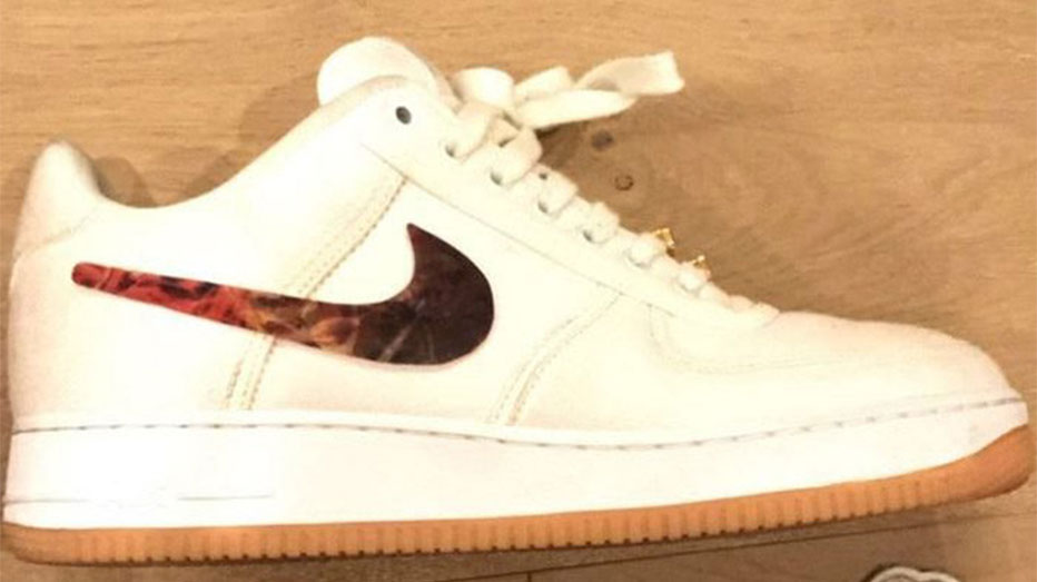 new style 53af5 f8864 Nike continues to push forward the customisable sneaker trend with a  possible collaboration with Travis Scott featuring the Air Force 1.