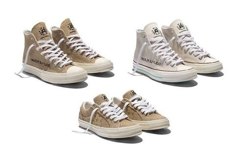 896b596ff16b There s a new Golf Le Fleur  x Converse collab on the way  Bringing you  Burlap Le Fleur.
